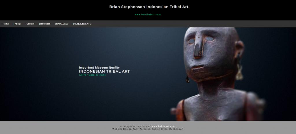 Brian Stephenson Indonesian Tribal Art